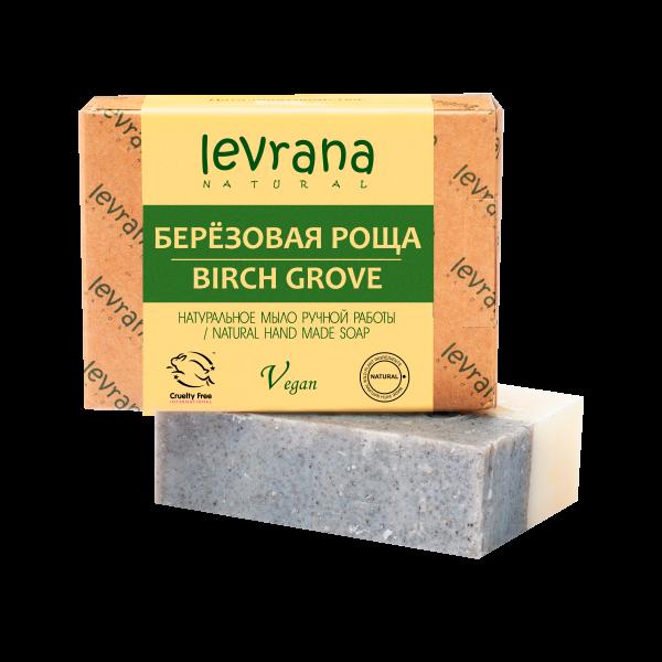 """Натуральное мыло ручной работы,""""Берёзовая роща"""", Levrana"""