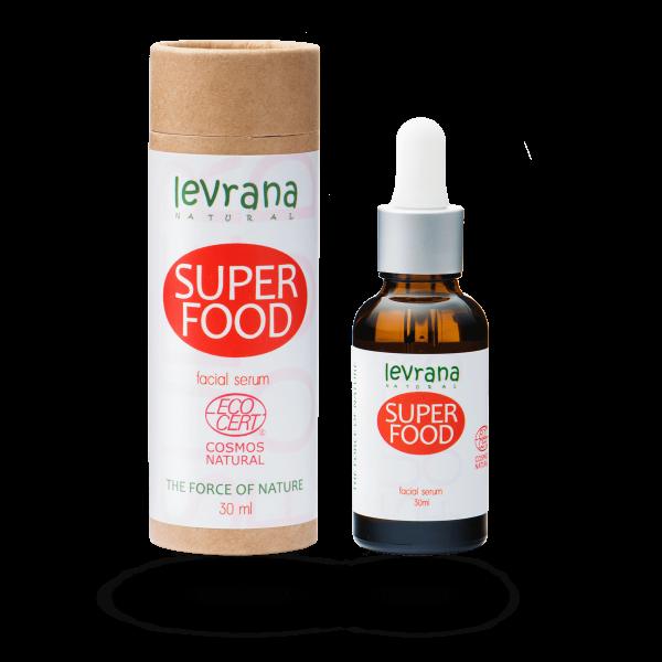 Сыворотка для лица SUPER FOOD суперпитание, Levrana
