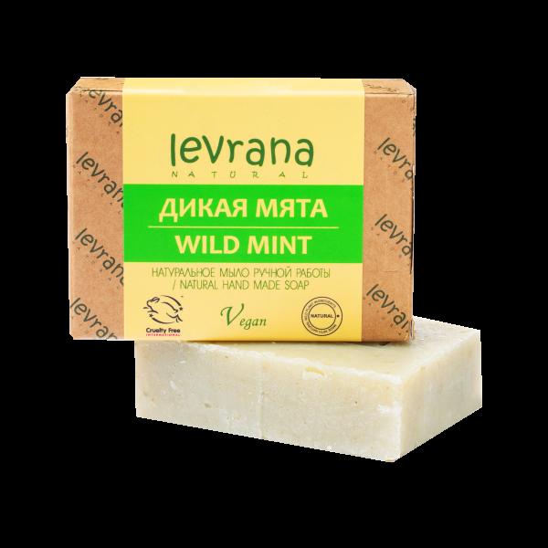 """Натуральное мыло ручной работы """"Дикая мята"""", Levrana"""