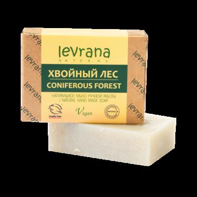 """Натуральное мыло ручной работы """"Хвойный лес"""", Levrana"""
