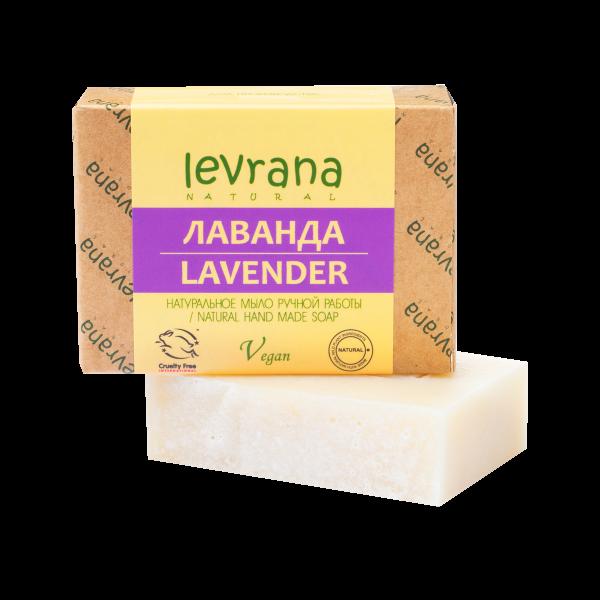"""Натуральное мыло ручной работы """"Лаванда"""", Levrana"""