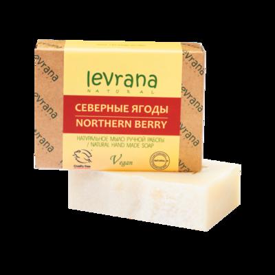 """Натуральное мыло ручной работы """"Северные ягоды"""", Levrana"""