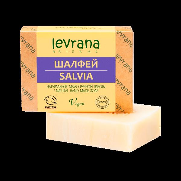 """Натуральное мыло ручной работы """"Шалфей"""", Levrana"""