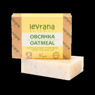 """Натуральное мыло ручной работы """"Овсянка"""", Levrana"""