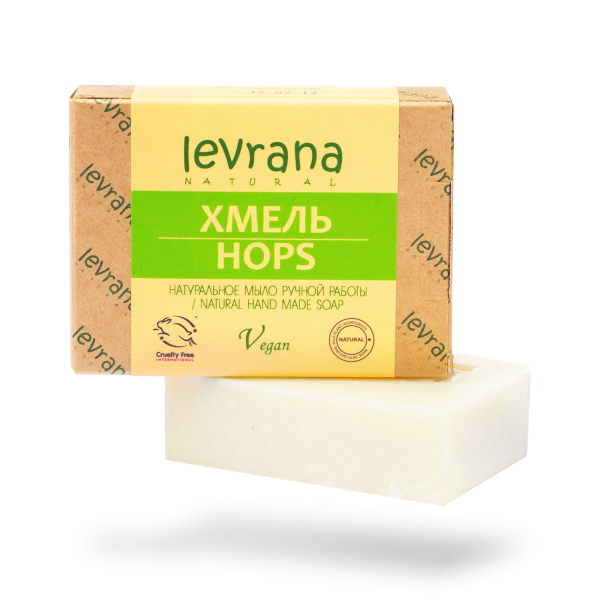 """Натуральное мыло ручной работы """"Хмель"""", Levrana"""