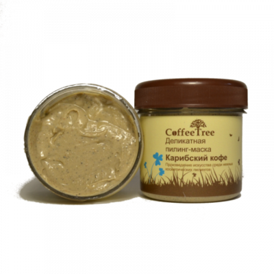 Деликатная пилинг-маска «Карибский кофе». v.i.Cosmetics
