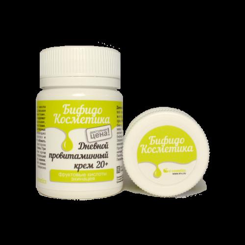Дневной провитаминный крем 20+. v.i.Cosmetics