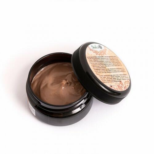 Детокс-маска для мгновенного восстановления кожи с ламинарией и кэробом. v.i.Cosmetics