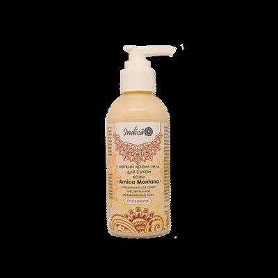 Мягкий крем-гель для очищения сухой чувствительной кожи «Arnica Montana». v.i.Cosmetics