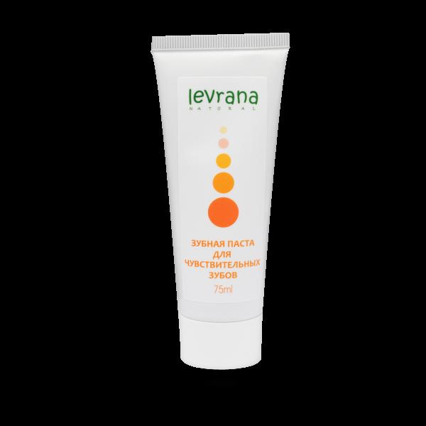 Зубная паста для чувствительных зубов, Levrana