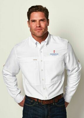 GameGuard Men's Microfiber Long Sleeve Shirt - Available in 3 Colors.