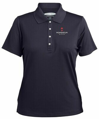 Pebble Beach Grid Texture Polo - Available in 2 colors