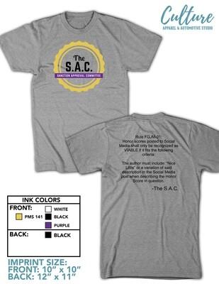 Sport Grey S.A.C t-shirt