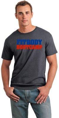 Fitbody Bootcamp Dark Heather tee