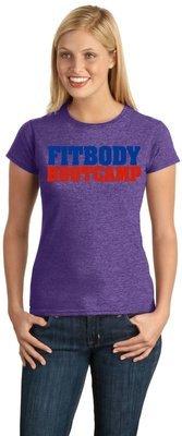Fitbody Ladies Heather Purple tee