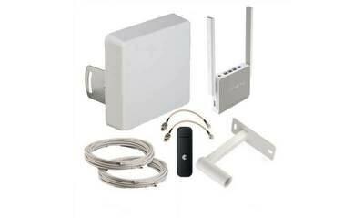 Комплект Дача - оборудование 3G/4G для приема мобильного интернета