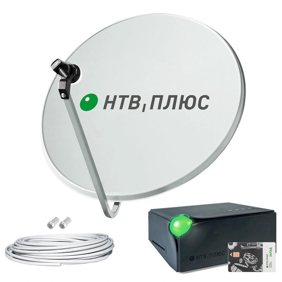 Комплект спутникового телевидения НТВ Плюс на 1 телевизор с ресивером DSD 4514R