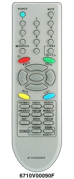 Пульт Huayu для LG 6710V00090F