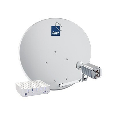 Комплект для подключения к спутниковому интернету Триколор