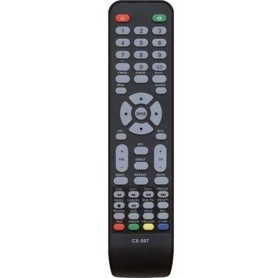 Пульт CX-507 для телевизоров Akai, HELIX, Telefunken, DNS, Hyundai, Galatec, Mystery, Erisson