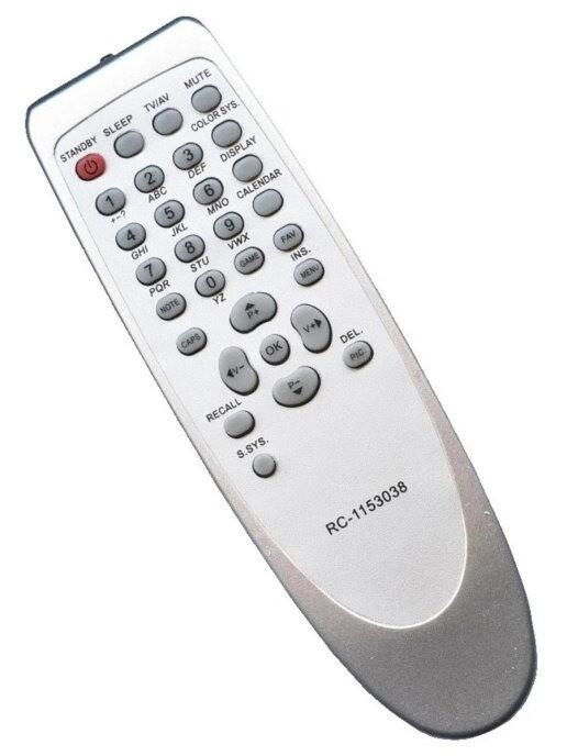 Пульт Huayu RC1153038 для телевизоров Avest, Sanyo, Trony, TCL, Hyundai, Elenberg, Shivaki, Rolsen