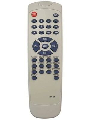 Пульт Huayu K16R-C3 (K16R-C2, K16R-C10 K16R-C17) для телевизоров Rolsen, Sitronics, Avest, Сокол