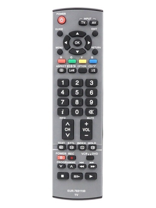 Пульт Huayu EUR7651150 (EUR7651120, EUR7651110 N2QAKB000064) для телевизоров Panasonic