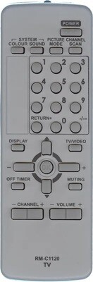 Пульт Huayu для JVC RM-C1120 ic как оригинал HJC085