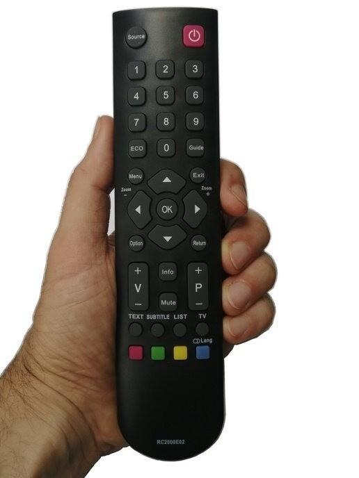 Пульт Huayu RC3000E02 (RC2000E01, RC2000E02, RC3000E01) для телевизоров Thomson