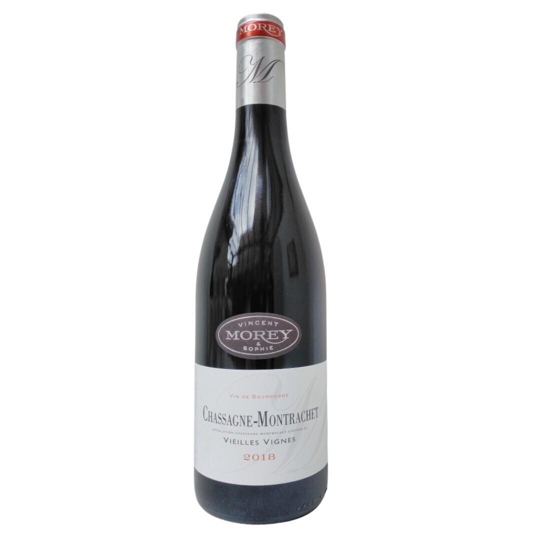 Chassagne-Montrachet Rouge Vieilles Vignes 2018 - Vincent & Sophie  Morey