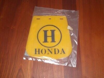 Mudflap Honda Yellow