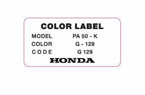 Color Label G 129 Brugge Green