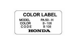 Color Label B 108 Kriti Blue