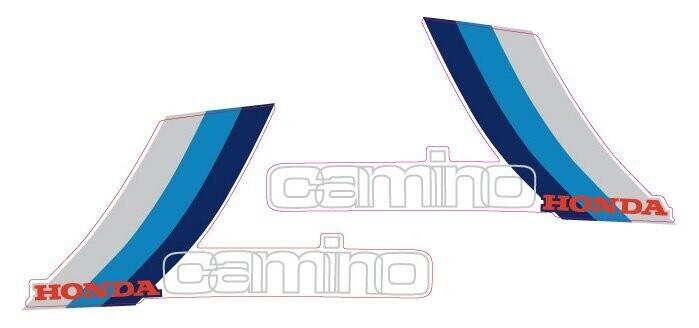 PA50 Set Blue/White