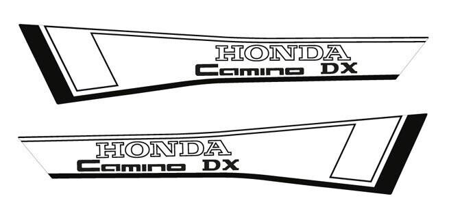 Honda Camino DX Set Black/White
