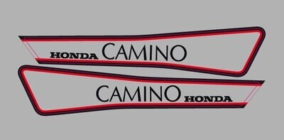 Honda Camino Set Red