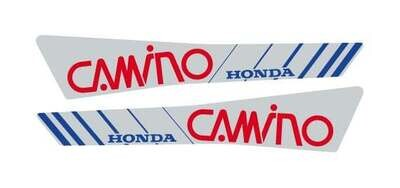 Honda Camino Set Red/Grey/Blue