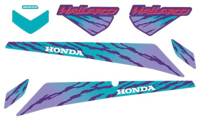 1993 Honda Wallaroo Set 4