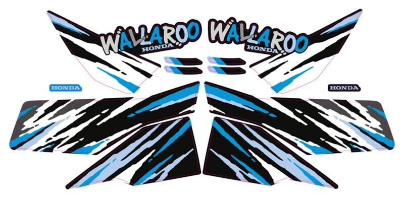 Honda Wallaroo Speciaal Set 8