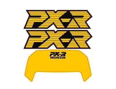 Decal Set PX-R Yellow
