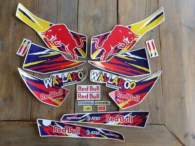 Honda Wallaroo Special Set Red Bull