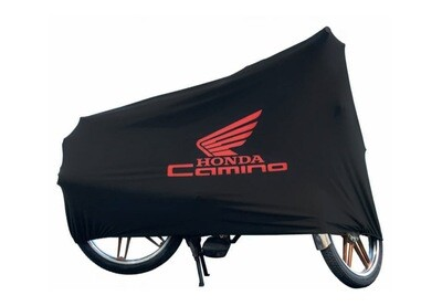 Motorcycle Cover Honda Black - Red