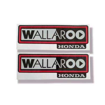 2002-2003 Honda Wallaroo Logo Set 2