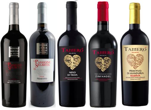 Italiaans proefpakket - 12  rode wijnen