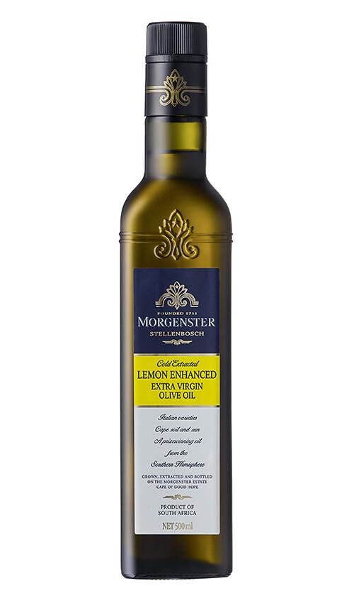 Morgenster's Lemon Enhanced Extra Virgin Olijfolie 500 ml