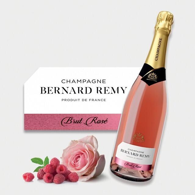 Champagne Bernard Remy Rosé