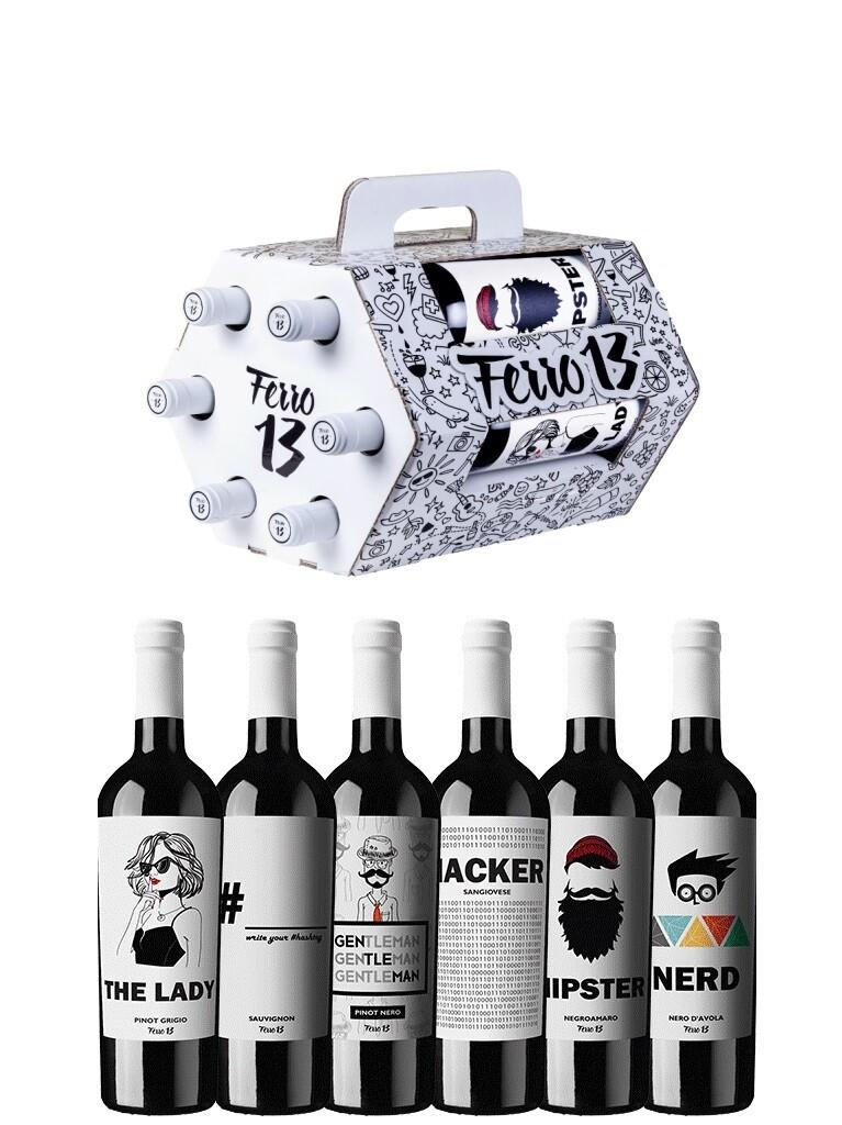 Ferro 13 Wijnpakket 6 flessen