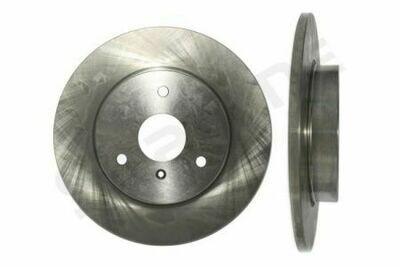 Передние тормозные диски Smart Fortwo 450