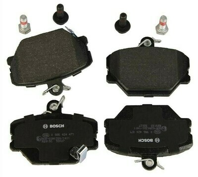 Передние тормозные колодки Smart Fortwo 450 (BOSCH)
