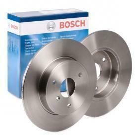 Передние тормозные диски Smart Fortwo 451 BOSCH